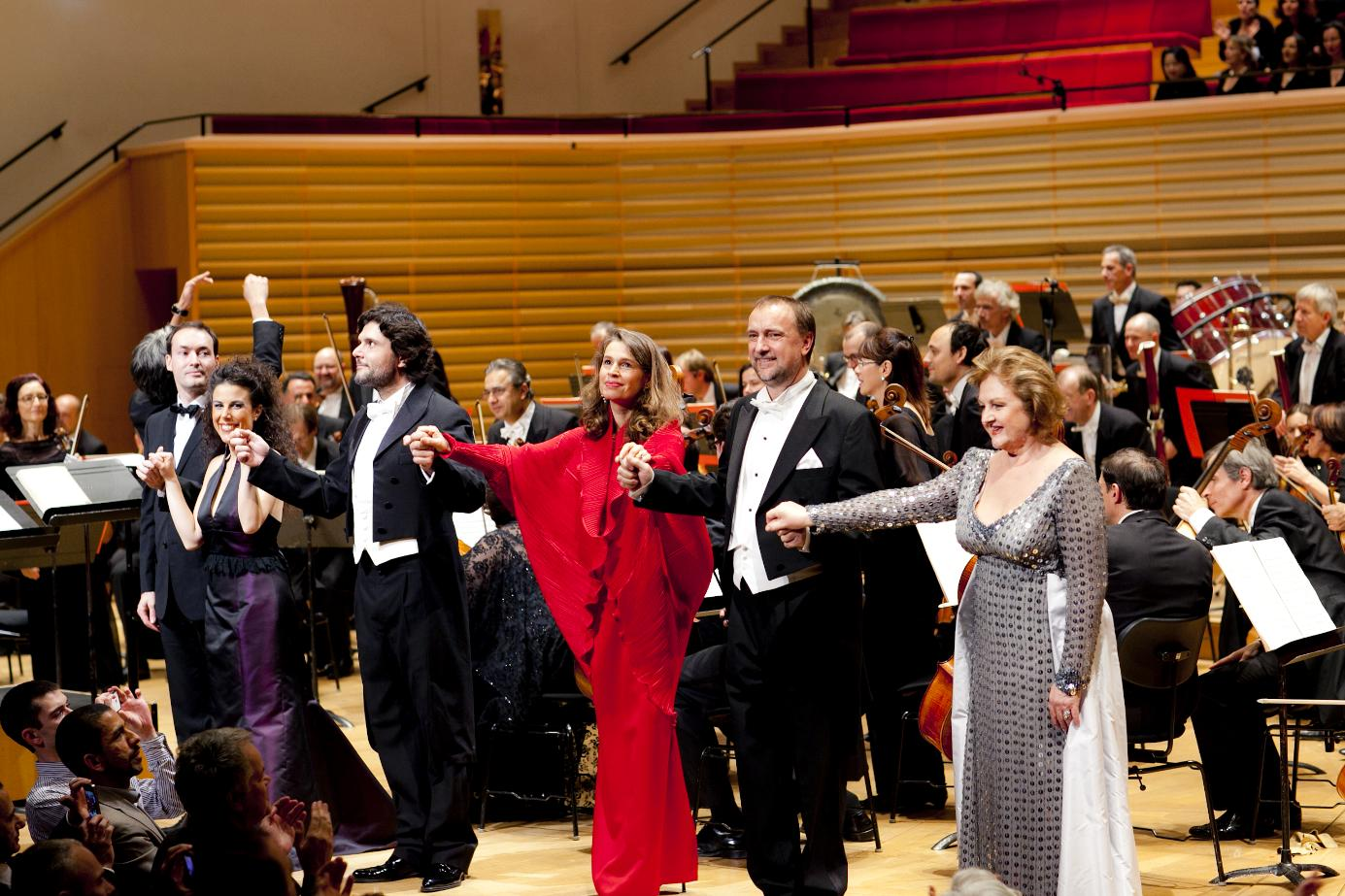 L'Orchestre et les interprètes
